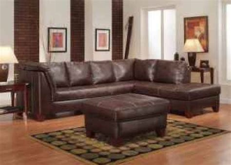 pottery barn leather sectional leather sectional sofa from pottery barn the interior
