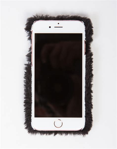 Terbaru Casing Fur Hat Series Iphone 6 6s fur iphone 6 6s black phone white phone 2020ave