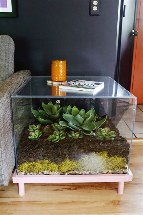 terrarium coffee table aquarium fish tank coffee table 8 unique designs guide