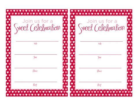 free printable valentine birthday invitations free valentine s day printables from magnolia creative co