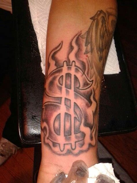 dollar sign tattoo tattoos by edwin pinterest signs