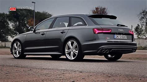 Audi S6   A6 TDI Ultra review   YouTube
