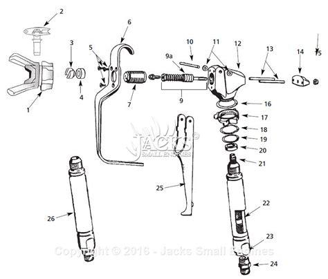 sprayer parts diagram cbell hausfeld al2710 parts diagram for spray gun parts