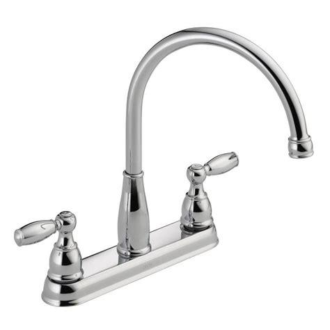 delta 2 handle kitchen faucet