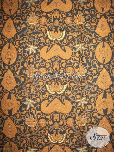 Kain Jarik Batik Sogan Putih Kawung Parang Wahyu Kipas Hitam Cokelat 100 gambar motif batik klasik dengan kain batik motif parang klasik coletan
