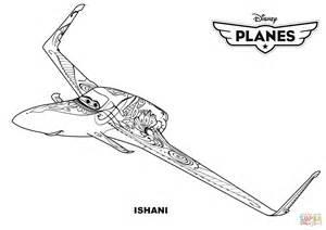coloring pages disney planes disney planes ishani coloring page free printable
