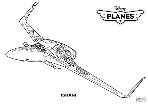 coloring pages disney planes disney planes ishani coloring page free printable