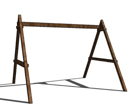 t frame swing set picture of a swing set cliparts co