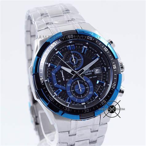 Jam Pria Wanita Edifice Baru Efr 523pb Suunto Jean Richard Citizen harga sarap jam tangan edifice efr 539d 1a2 silver biru