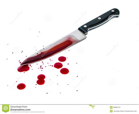 Red Kitchen Knives by Bloody Knife Stock Photo Image 38886144