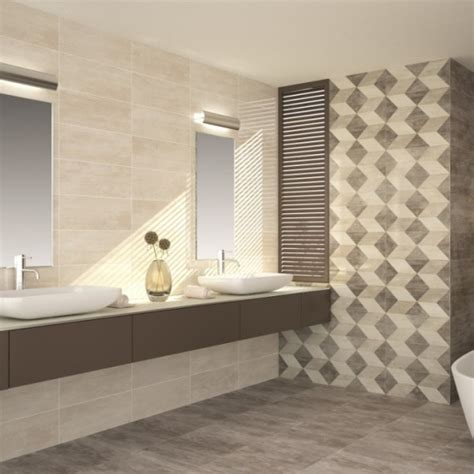 Cream wall tiles See kitchen tile designs & bathroom tiling ideas