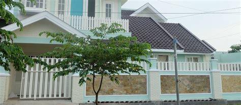desain rumah shabby chic minimalis desain pagar rumah warna hijau desain pagar rumah