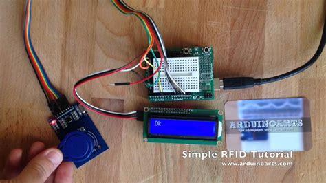 tutorial arduino rfid arduino tutorial simple rfid lcd alarm youtube