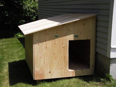 pictures of homemade dog houses small dog houses here s a cheap diy slanted roof hom