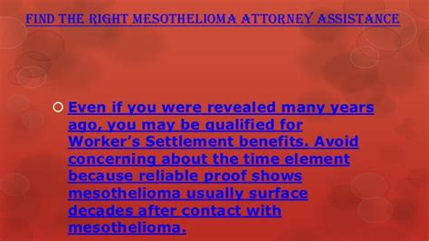 Mesothelioma Attorney California 5 by Find The Right Mesothelioma Attorney Assistance