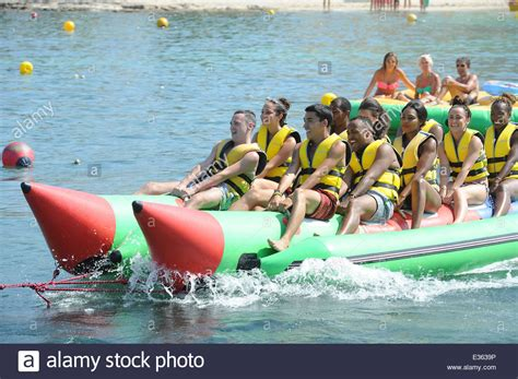 banana boat friends banana boat and ibiza stock photos banana boat and ibiza