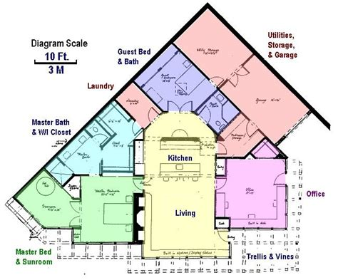 underground home floor plans earth sheltered homes underground floor plans earth
