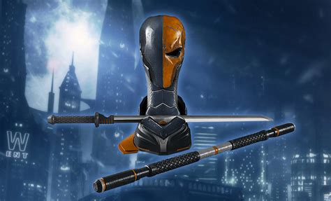 New Home Blueprints dc comics deathstroke arsenal prop replica by triforce