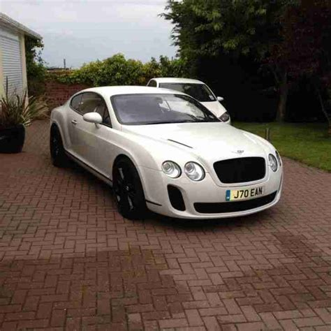 bentley sports car white bentley continental gt white supersport car for sale