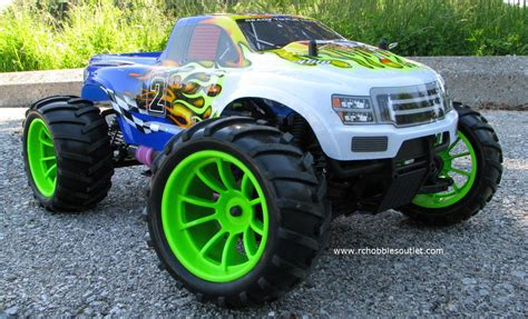 hsp nitro monster rc nitro gas monster truck hsp 1 10 4wd rtr 2 4g 88038
