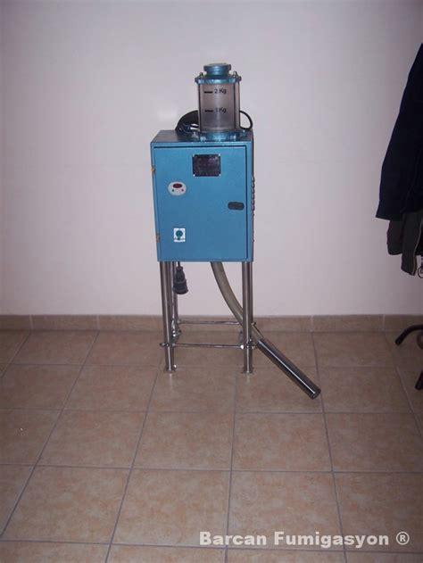 Dispenser Kendi barcan 箘la 231 lama fumigasyon hizmetleri