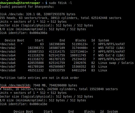 format fat32 linux fdisk how to format sdhc in linux using command line