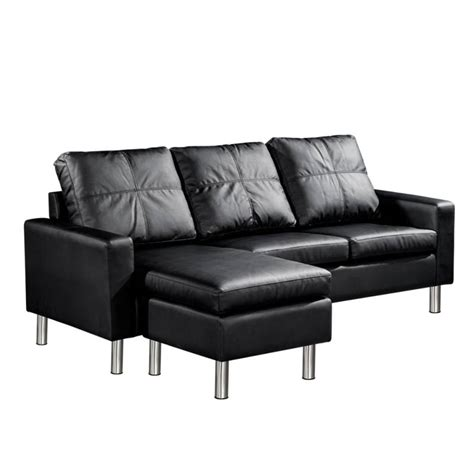pu leather sofa reviews three seater pu leather sofa with ottoman in black buy