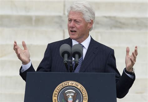 bill clinton presidency bill clinton march on washington speech former president