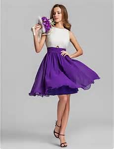 Lanting bride 174 short mini georgette bridesmaid dress a line jewel