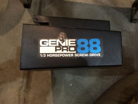 Reset Genie Garage Door by How To Program Genie Pro 88 Drive Door Opener