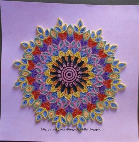 quilling tutorial on pinterest quilling tutorial quilledrangoli1 quilling pinterest