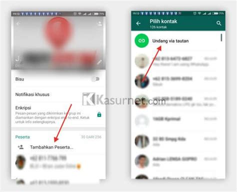 membuat link whatsapp di website cara membuat link menuju whatsapp group kasurnet com