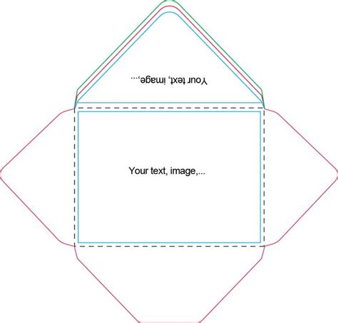 printable envelope template for 4x6 card 417 best images about envelope templates on