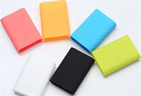 Silicon Cover For Xiaomi Power Bank 10400mah White Diskon silicon cover for xiaomi power bank 16000 mah white jakartanotebook