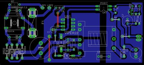 pcb layout guidelines for smps viper22a based smps help needed