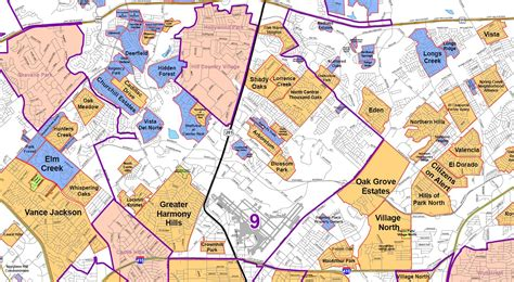 texas neighborhood map san antonio map inside loop 1604