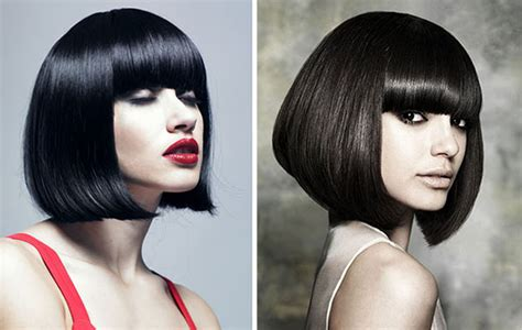 a line bob hairstyles with bangs bob haircuts for 2014 hairstyles 2017 hair colors and