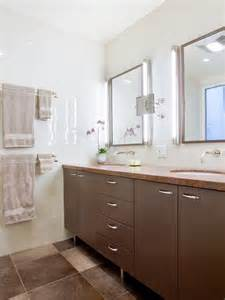 laminate vanity with brown ceramic floor for long bathroom 30 diy storage ideas to organize your bathroom page 2
