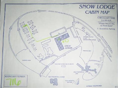 old faithful inn floor plan マップです picture of old faithful snow lodge and cabins