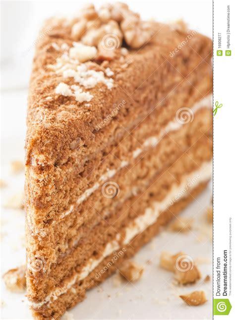 kuchen mit honig backen honig kuchen stockbild bild pudding gastst 228 tte