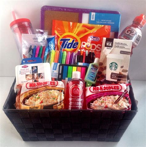 room gift ideas room survival basket great gifts 155008
