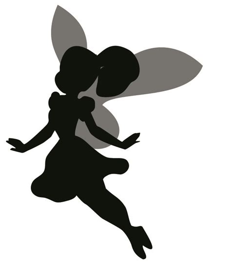 Fairies Wall Stickers fairy silhouette wall sticker removable wall stickers