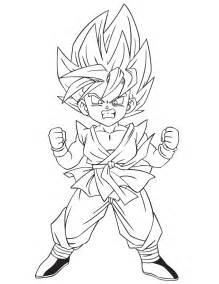 dragon ball az coloriage