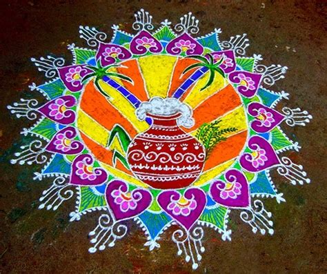 rangoli themes for sankranthi search results for rangoli for pongal calendar 2015