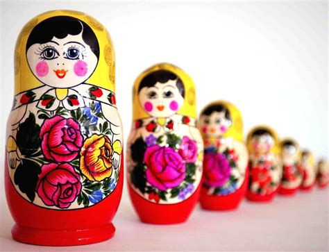 True Selves - bread and wine russian dolls walk humbly with god