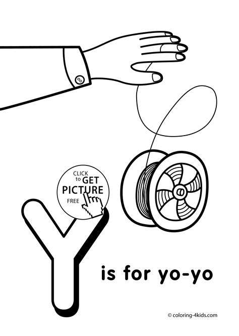 Letter Y Coloring Pages For Preschoolers by Printable Alphabet Coloring Sheets For Preschoolers