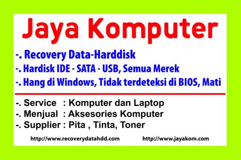 Jasa Recovery Harddisk contact jasa recovery data harddisk