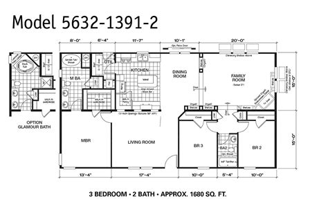 100 1999 fleetwood mobile home floor plan house