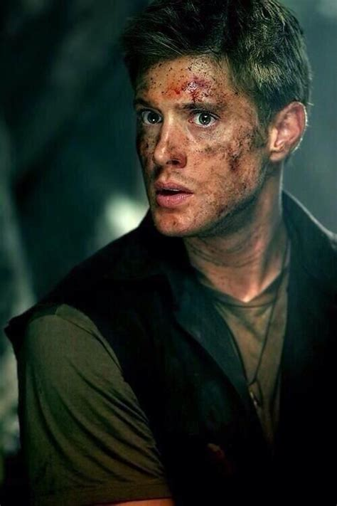 ackles bloody tactical investor on beautiful dean winchester and