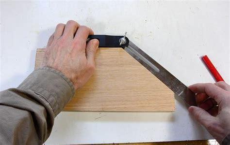 Making a wooden bevel gaugue